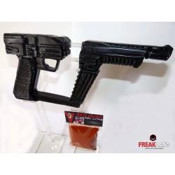 Pistola V  Los visitantes